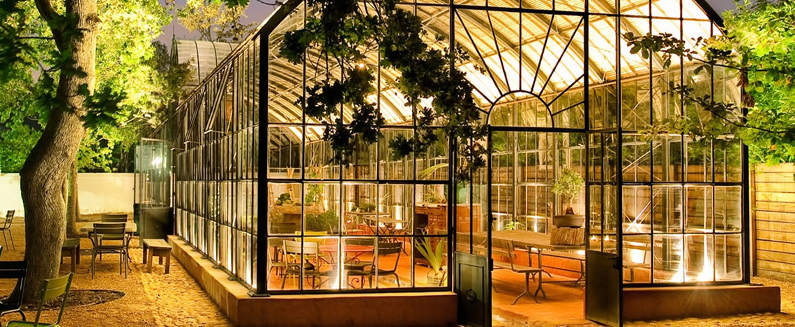 Greenhouse Restaurant at Babylonstoren – Franschhoek Restaurant