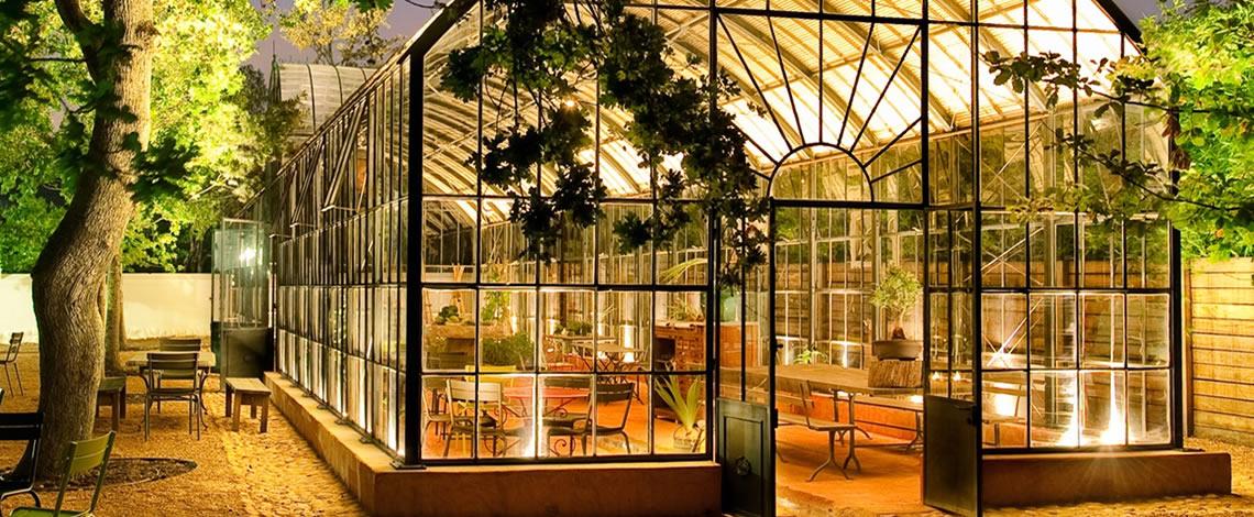 Greenhouse Restaurant Babylonstoren Franschhoek Restaurants